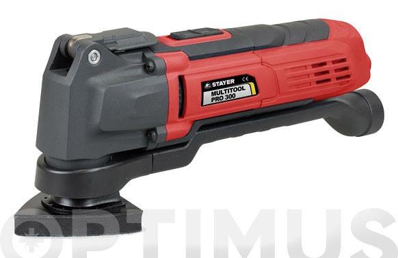 Multiherramienta oscilante con cable multi tool pro 300 300w