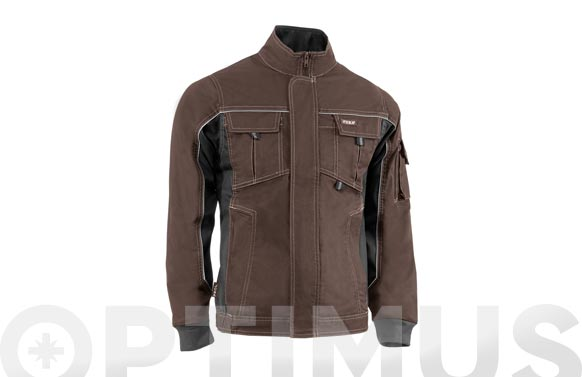 Chaqueta flex marron t s