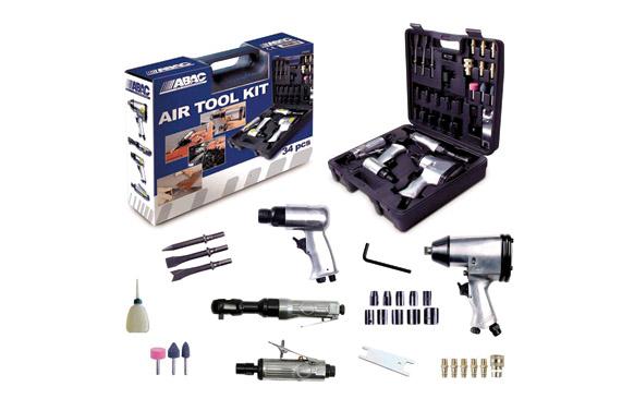 Herramienta neumatica kit 34 piezas air tool