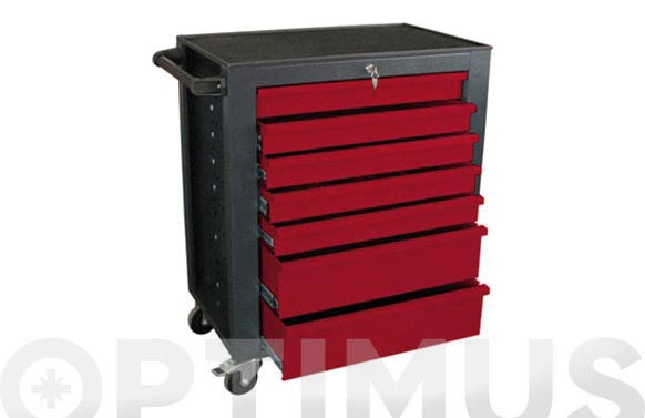 Carro herramientas 7 cajones 940x840x480 mm