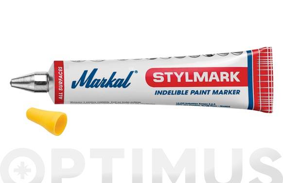 Tubo marcar pintura indeleble ø 3 mm amarillo