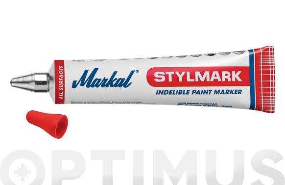 Tubo marcar pintura indeleble ø 3 mm rojo