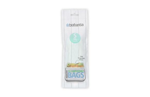 Bolsa basura biodegradable (10 uds) 6 l