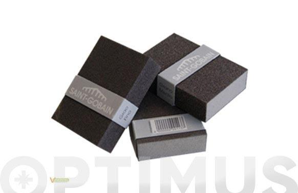 Lija de mano taco abrasivo gr fino 100 x 70 mm
