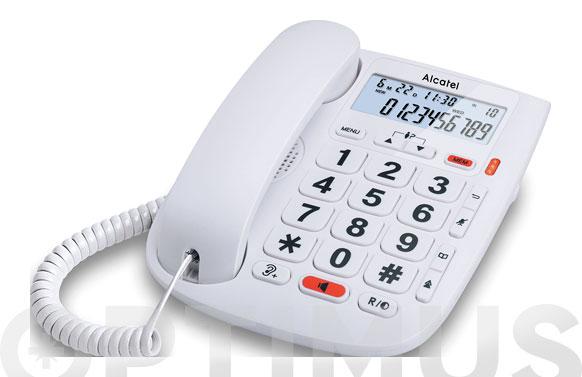 Telefono fijo teclas grandes momo dr pantalla-blanco