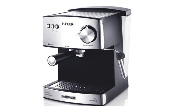 Cafetera espresso 15 bars italia plus