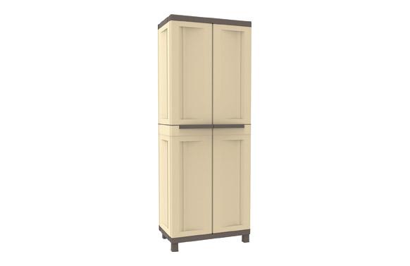 Armario resina con estantes sahara 181 x 68 x 39 cm