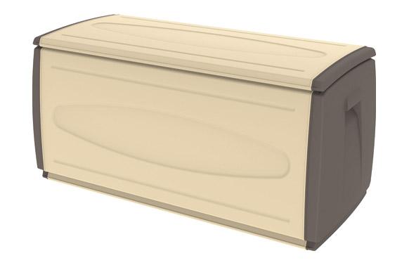 Baul resina 308 l sahara 120x54x57 cm