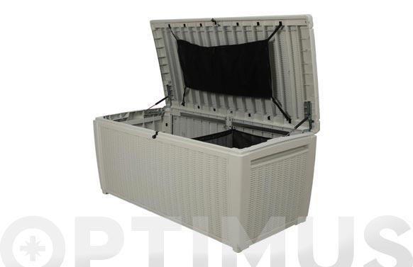 Arcon jardin resina pool box xxl blanco