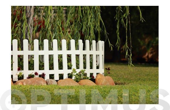Mini valla lop blanca  5uds 57 x 34,5 x 7 cm