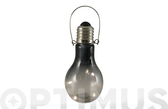 Bombilla decorativa pilas smoke 5leds