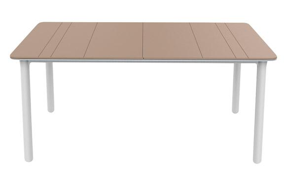 Mesa rectangular noa arena/blanco 160 x 90 cm