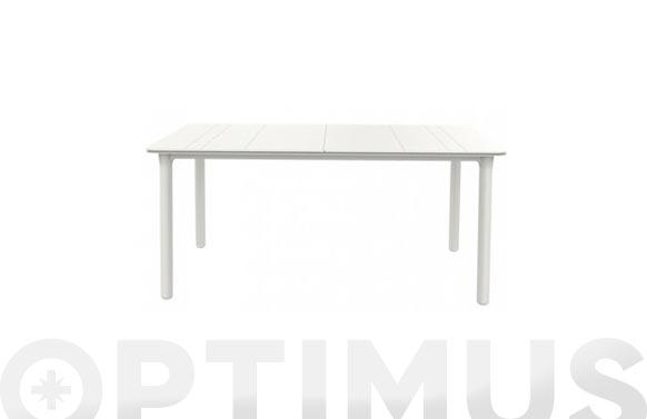 Mesa rectangular noa blanco 160 x 90 cm