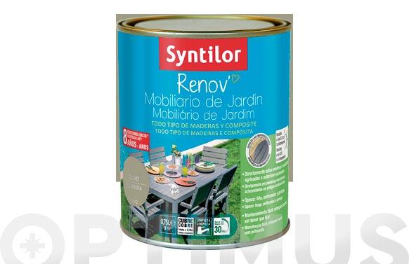 Pintura renov muebles jardin verde olivo-0,75l
