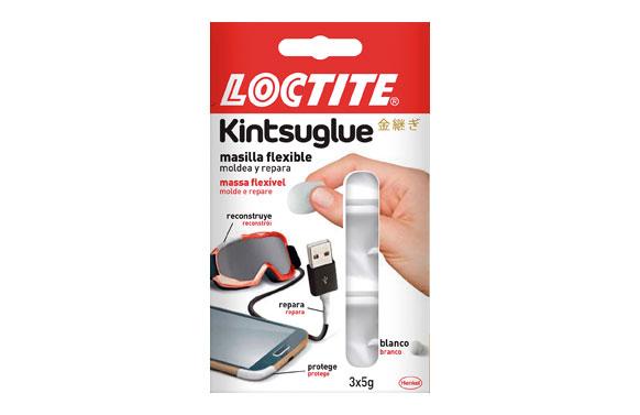Kintsuglue masilla flexible blanco 3 x 5 gr
