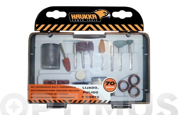 Accesorios mini herramienta set 70 piezas