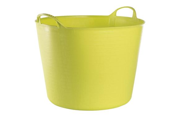 Capazo plastico flexible multiusos 42 lt pistacho