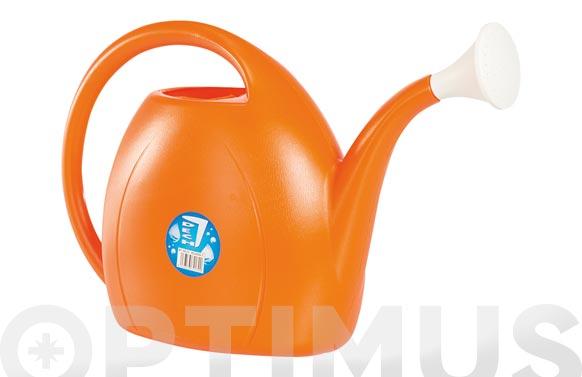 Regadera plastico 7 lt naranja