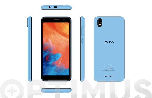 "Smartphone 3g 5"" tft, lcd 16gb-azul"