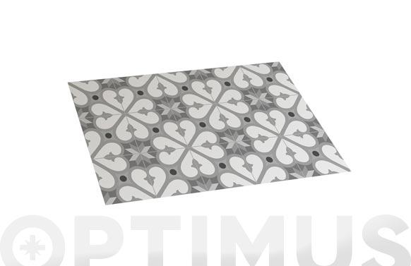 Alfombra vinilica croma bcn grises 45 x 75 cm