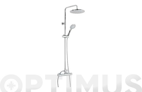 Conjunto columna de ducha con termostatica