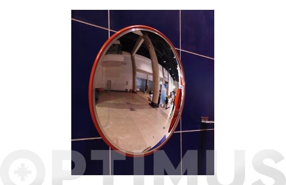 Espejo convexo de policarbonato ø 45 cm. uso en interior y exterior