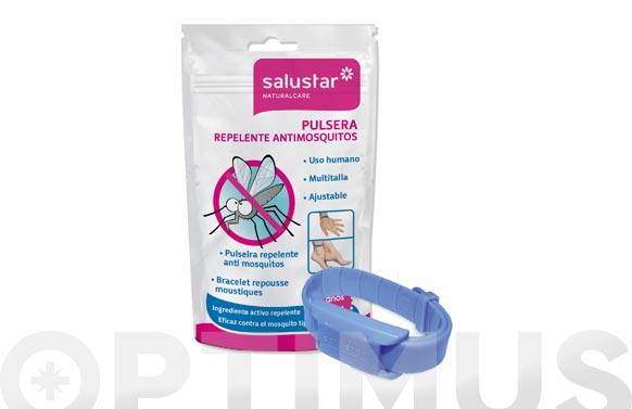 Pulsera repelente mosquitos 1 ud