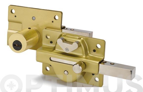 Cerrojo acorazado 500c/50 esmaltado oro