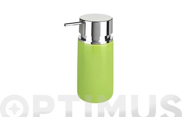 Dosificador jabon silo verde