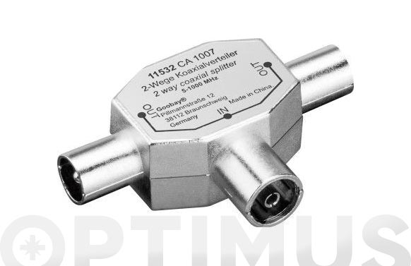 Adaptador metalico tv 2m - 1h
