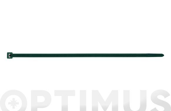 Brida nilon verde 100 uds 3,6 x 200
