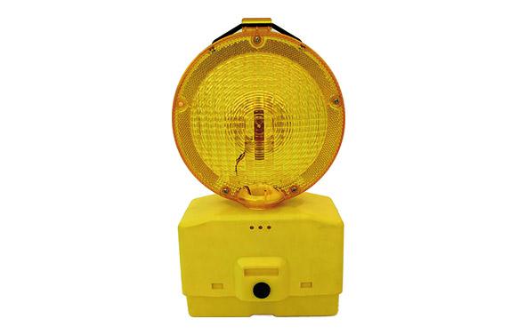Baliza señalizacion intermitente led ambar 2 baterias