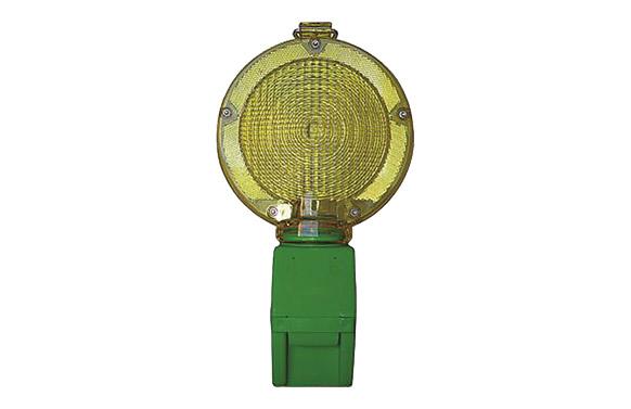 Baliza señalizacion intermitente led ambar 1 bateria