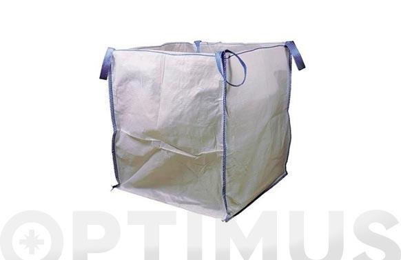 Saco rafia escombros big bag (2 unid) 100 x 90 x 90 cm 4 asas