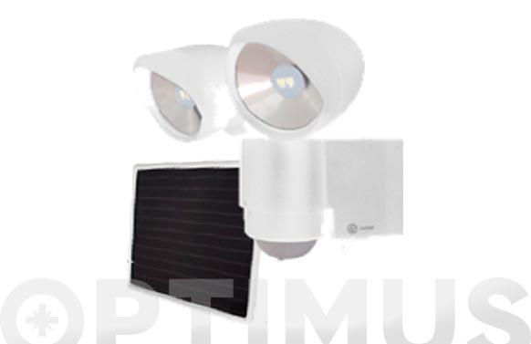 Kit solar + protector led con detector solartwain white