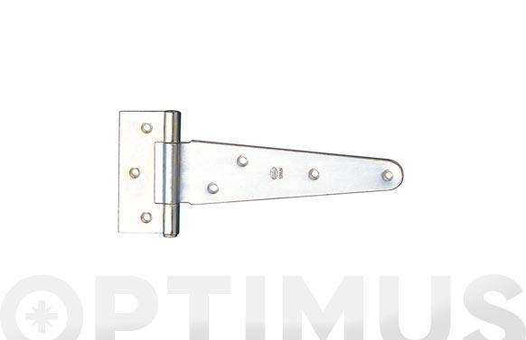 Bisagra para puerta lisa mod.550 109 x 75 mm acero cincado