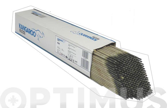 Electrodo inoxidable (e316l-16) 114 uds 2.5 x 300 mm