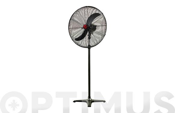 Ventilador pie industrial ø72cm 180w oscilante