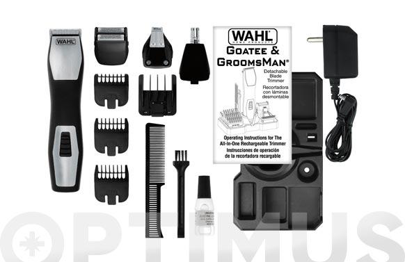 Depiladora cuerpo/barba/cara body groomer