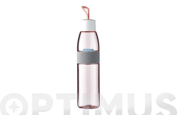 Botella para agua ellipse rosa nordico 700 ml