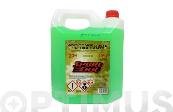 Anticongelante refrigerante 30% verde -18.c +135.c