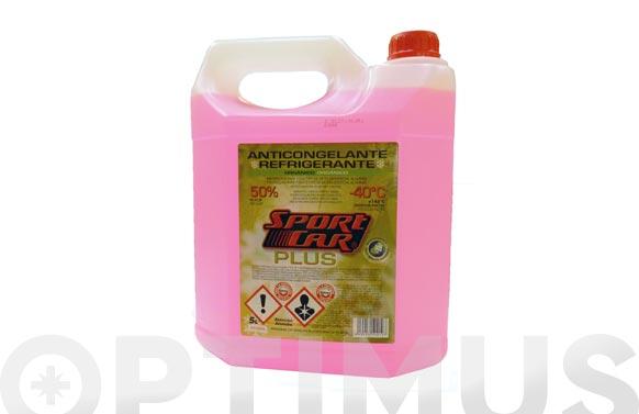 Anticongelante refrigerante 50% rosa -40.c +145.c