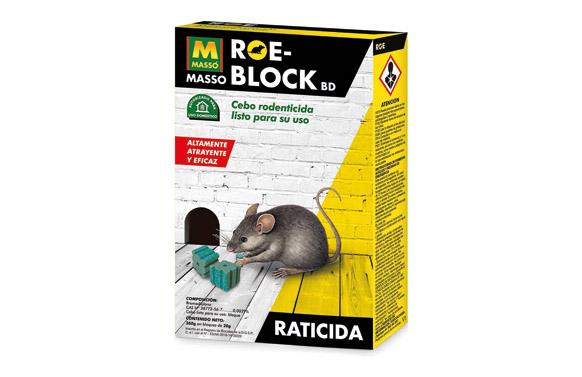 Raticida roe block 260 gr
