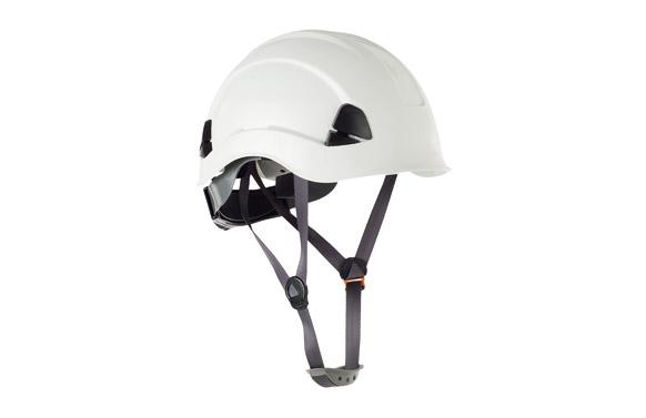 Casco proteccion para trabajos en altura eolo blanco