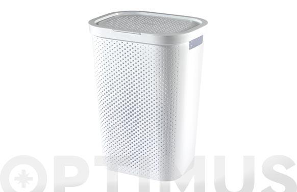 Pongotodo recycled hamper infinity 59 l blanco
