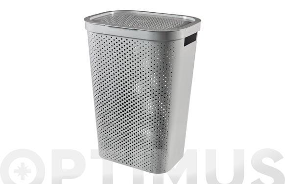 Pongotodo recycled hamper infinity 59 l gris