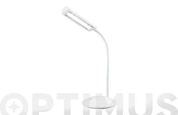 Lampara led de escritorio 5w blanca
