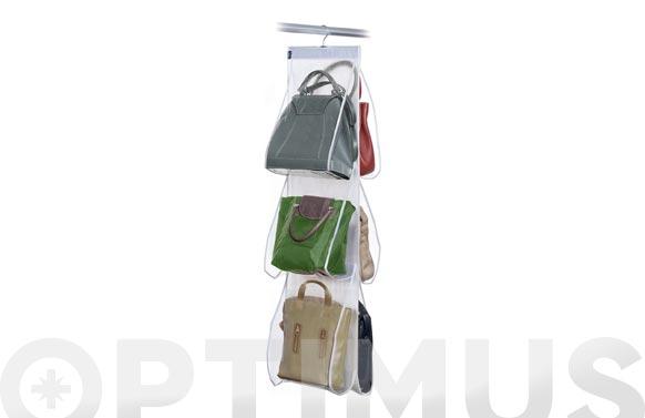 Organizador 6 bolsos peva 36 x 120 cm