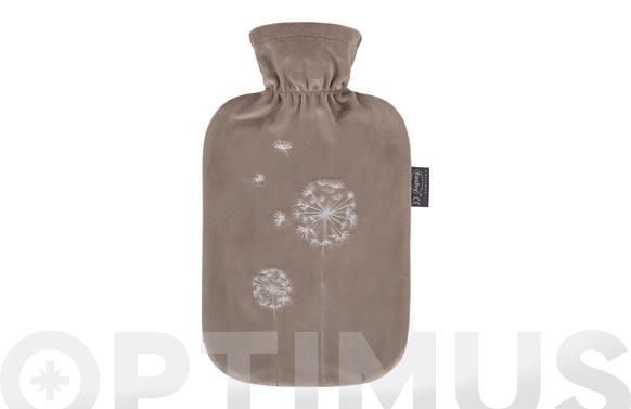 Bolsa agua caliente 2 lt polar marron