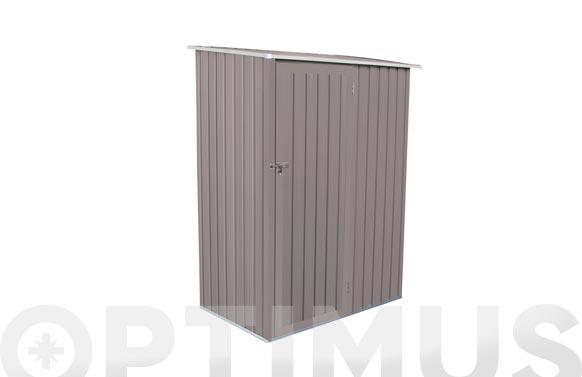 Armario metalico gris galvanizado gjoll 1.27m2 l143 x f89 x h186 cm